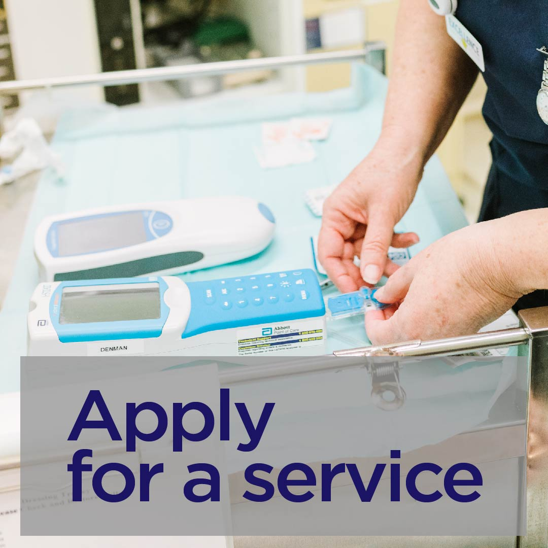 Apply for a service