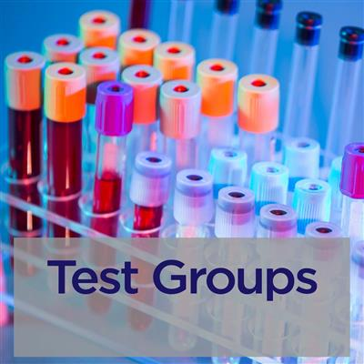 Test groups
