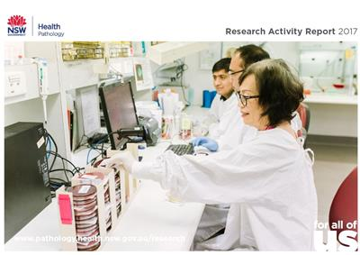 All staff email - research activity report image